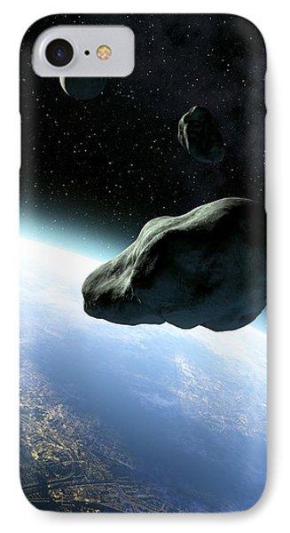 Near-earth Objects, Artwork Phone Case by Take 27 Ltd