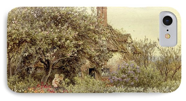 Near Hambledon IPhone Case by Helen Allingham