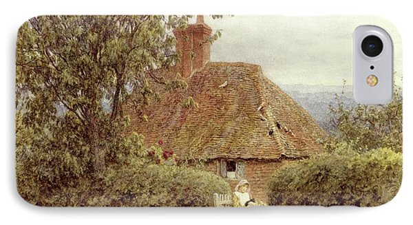 Near Haslemere IPhone Case by Helen Allingham