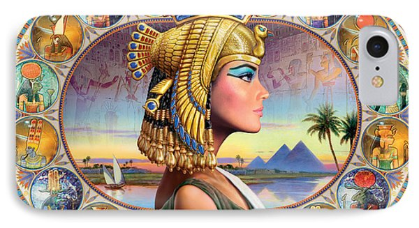 Nefertari Variant 3 Phone Case by Andrew Farley