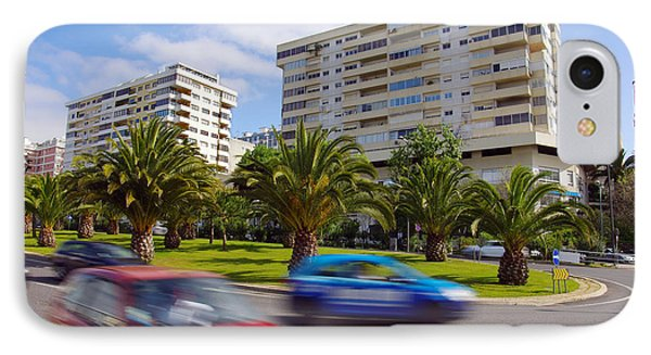 Neighborhood Unrest IPhone Case by Carlos Caetano
