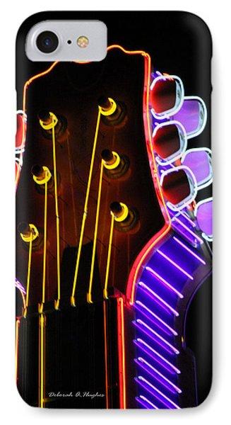 Neon Bridge IPhone Case by Deborah Hughes