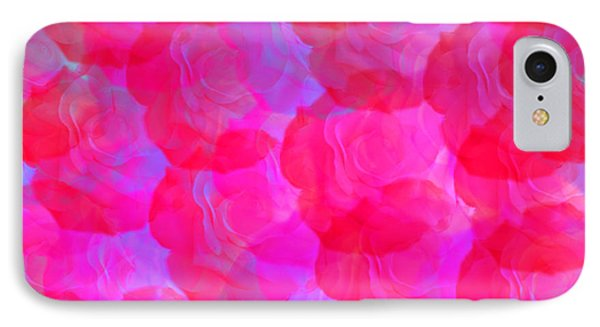 Neon Roses Phone Case by Susan Stevenson