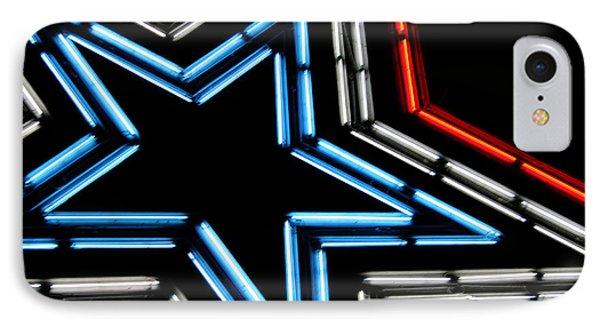 Neon Star Phone Case by Darren Fisher
