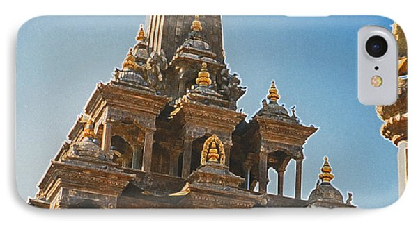 Nepal Temple 2 Phone Case by First Star Art