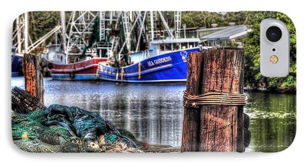 Nets And The Sea Goddess Phone Case by Michael Thomas