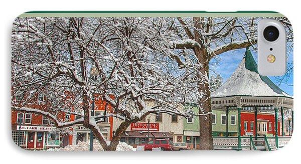 New England Christmas IPhone Case by Joann Vitali