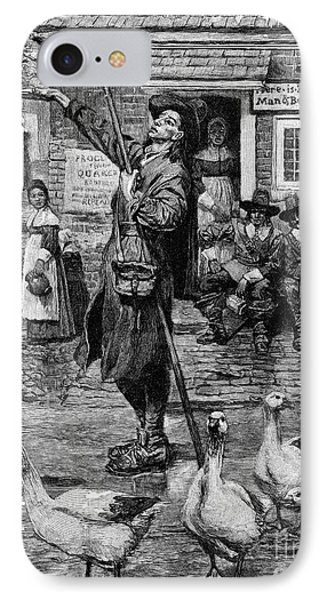 New England: Quaker, 1660 Phone Case by Granger