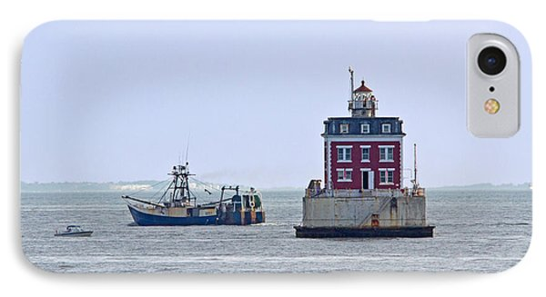 New London Ledge Lighthouse. Phone Case by David Freuthal