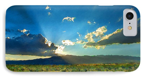 New Mexico Desert IPhone Case by Betty LaRue