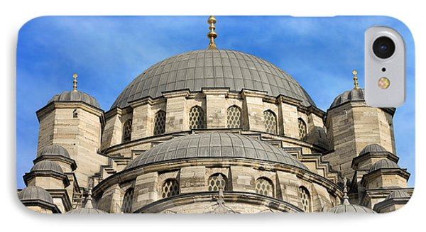 New Mosque Domes In Istanbul Phone Case by Artur Bogacki