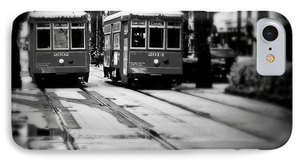 New Orleans Classic Streetcars. Phone Case by Perry Webster