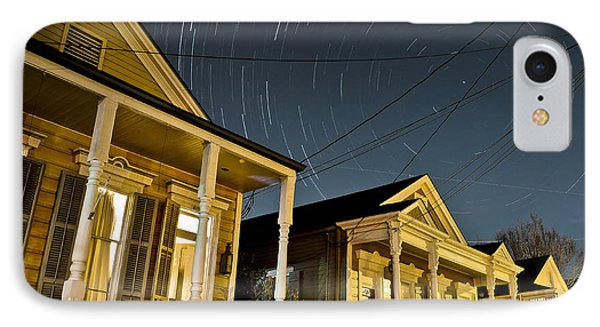 IPhone Case featuring the photograph New Orleans Star Trails by Ray Devlin