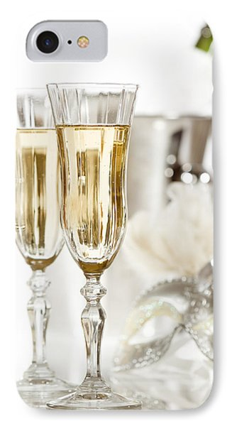 New Year Champagne Phone Case by Amanda Elwell