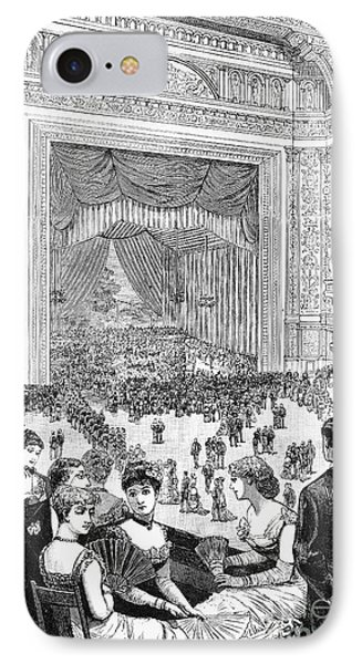 New York Charity Ball, 1884 Phone Case by Granger