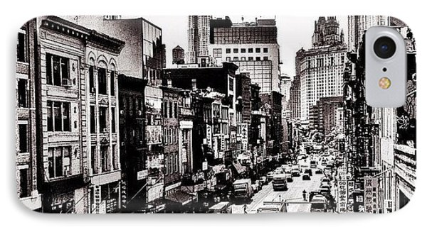 New York City - Above Chinatown IPhone Case