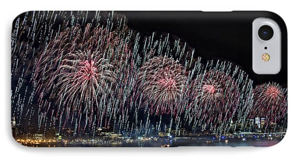 New York City Celebrates The 4th Phone Case by Susan Candelario