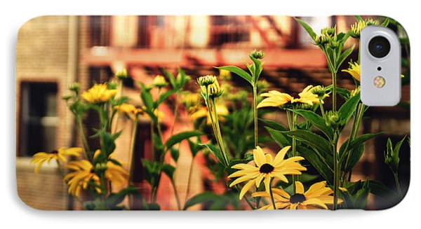 New York City Flowers Along The High Line Park IPhone Case by Vivienne Gucwa