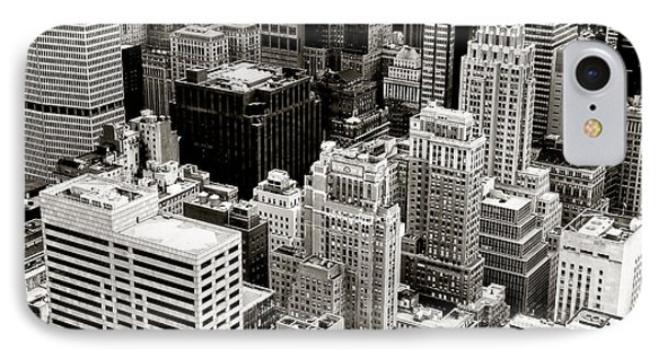 New York City From Above Phone Case by Vivienne Gucwa