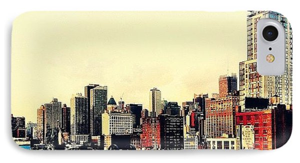 New York City Rooftops IPhone Case by Vivienne Gucwa