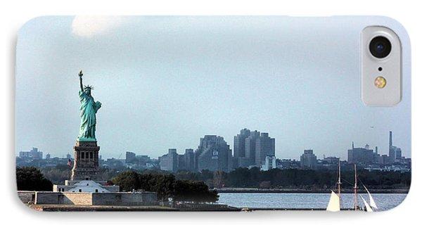 New York Harbor Phone Case by Kristin Elmquist