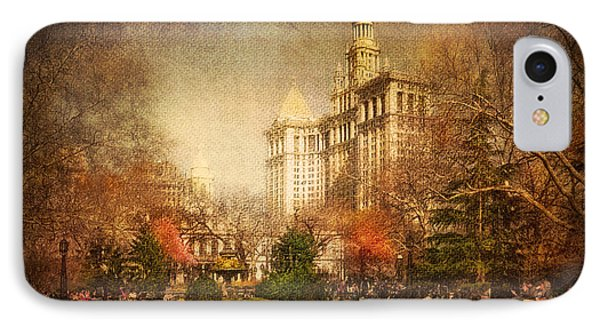 New York In April Phone Case by Svetlana Sewell