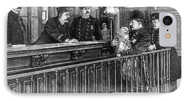 New York: Police Station Phone Case by Granger
