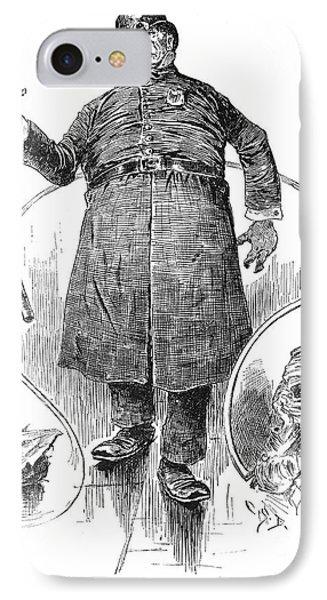 New York Policeman, 1890 Phone Case by Granger