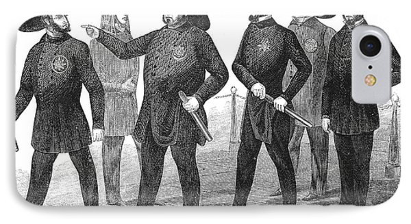 New York Policemen, 1854 Phone Case by Granger