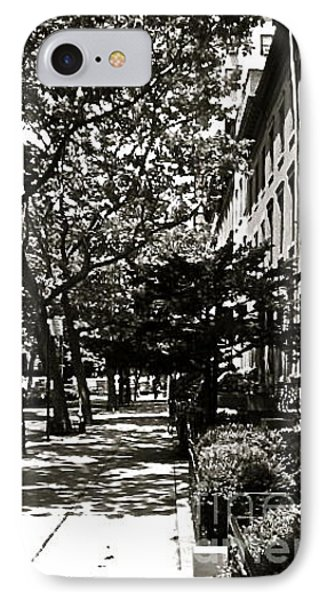 IPhone Case featuring the photograph New York Sidewalk by Eric Tressler