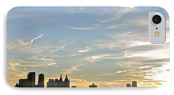 New York Sunset 2 Phone Case by Randi Shenkman