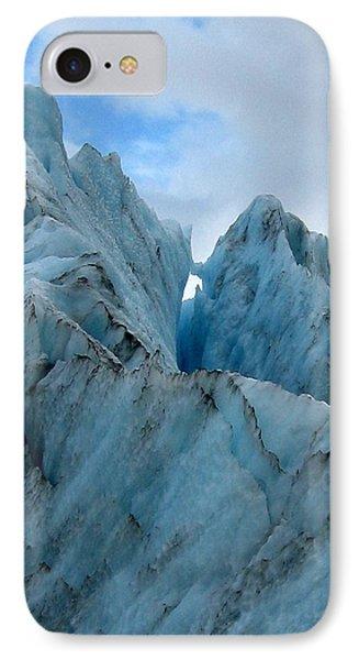 New Zealand Glacier Phone Case by JoAnne Rauschkolb