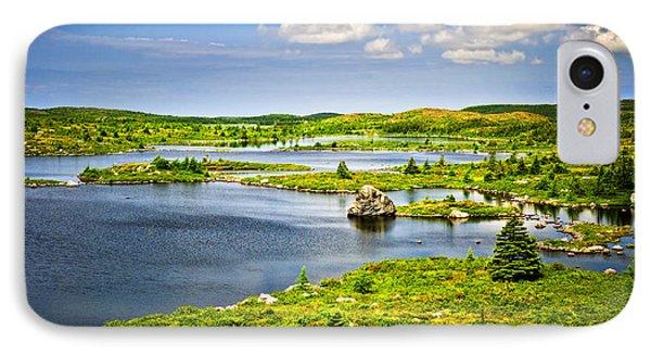 Newfoundland Landscape Phone Case by Elena Elisseeva