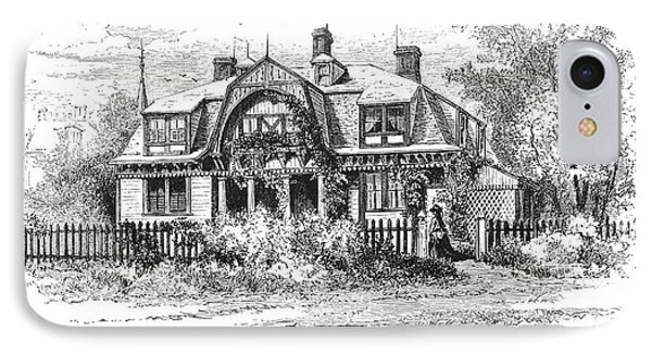 Newport: Villa, C1876 Phone Case by Granger