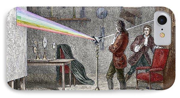 Newton's Optics Phone Case by Sheila Terry