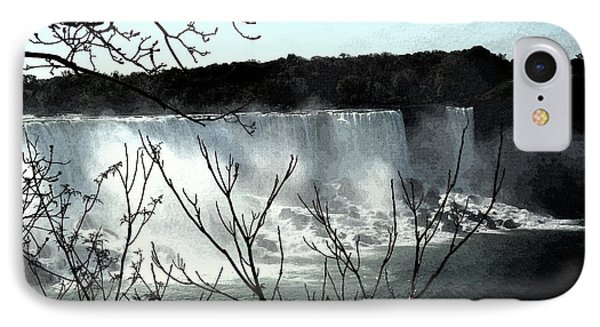 IPhone Case featuring the photograph Niagar Falls by Pravine Chester