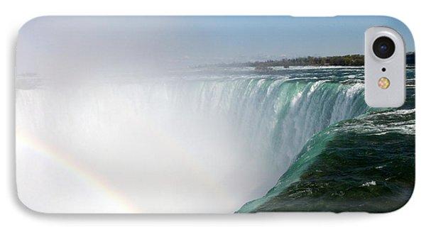 Niagara Falls Rainbow Please Do Not Jump For Gold   Phone Case by Danielle  Parent