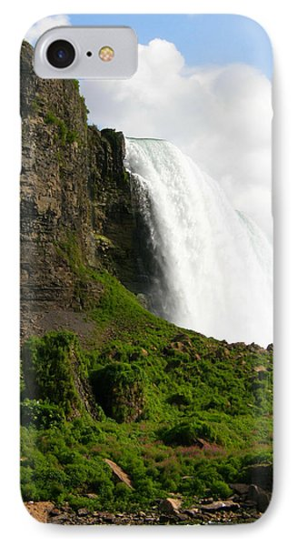 IPhone Case featuring the photograph Niagara Falls Us Side by Mark J Seefeldt