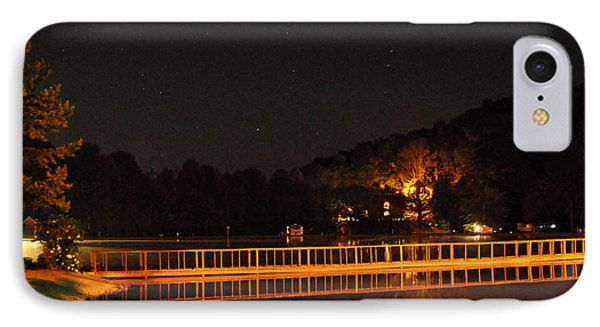 IPhone Case featuring the photograph Night Bridge by Kay Lovingood