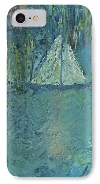 Night Sail Phone Case by Wayne Potrafka