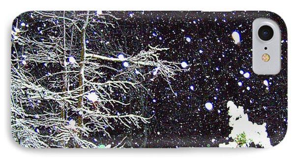 Night Snow Phone Case by Sandi OReilly