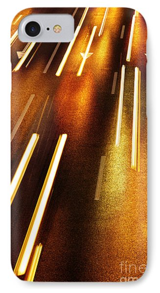 Night Traffic Phone Case by Carlos Caetano