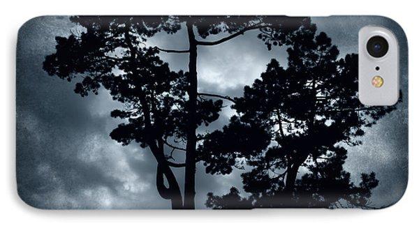 Night Tree Phone Case by Svetlana Sewell