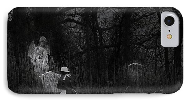 Night Visitor IPhone Case by Ron Jones