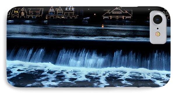 Nighttime At Boathouse Row Phone Case by Bill Cannon