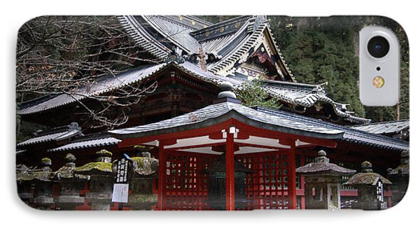 Nikko Monastery Building IPhone Case by Naxart Studio