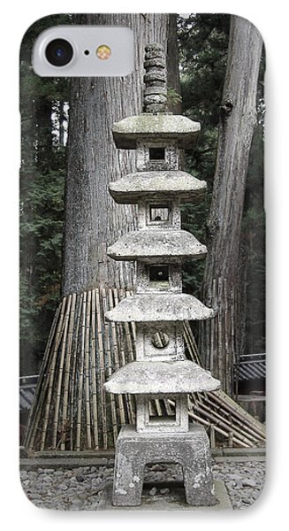Nikko Temple Sculptures IPhone Case by Naxart Studio