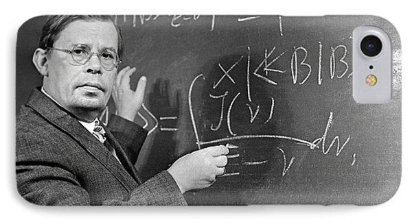 Nikolai Bogolyubov, Soviet Physicist Phone Case by Ria Novosti
