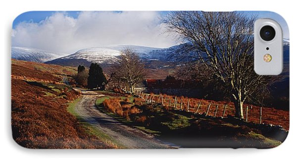 Nire Valley Drive, County Waterford Phone Case by Richard Cummins