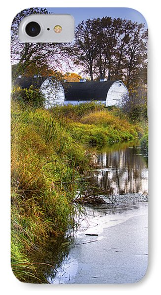 Nisqually Wildlife Refuge P21 The Twin Barns Phone Case by David Patterson